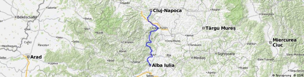 Cluj - Rimetea - Ramet - Alba