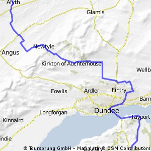 Scotland - Castle Crusade Tour - Day 3 (Alyth - Dundee - St. Michaels)