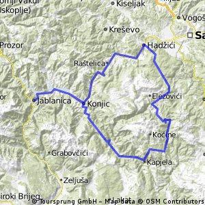 krug oko Bjelašnice i Visočice