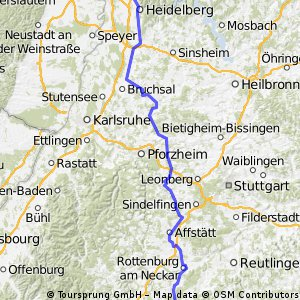 Mannheim - Onstmettingen