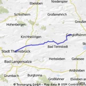 Thamsbrück - Lützen