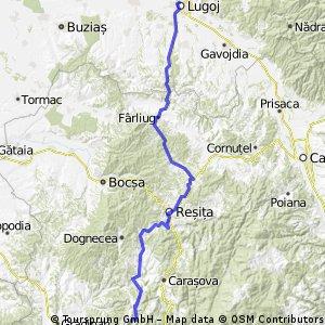 Lugoj - Lisava (catre Bradisoru de jos)