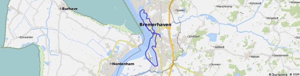 Bremerhaven Bike It - Fisch und Schipp