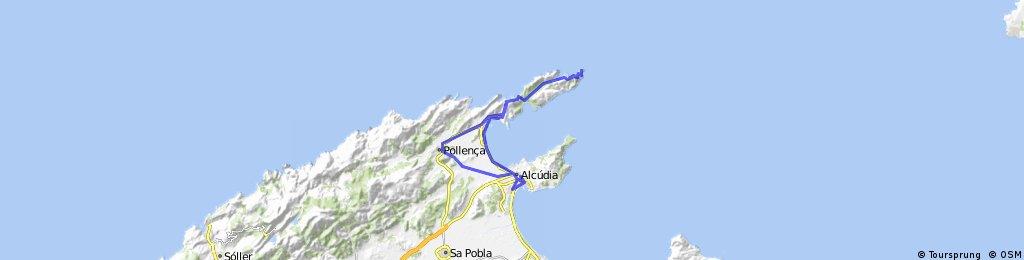 Alcúdia - Cap Formentor - Alcúdia