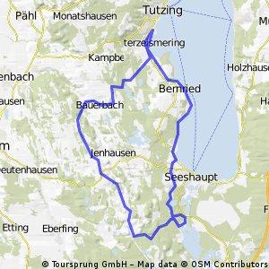 Tutzing-Bernried-Osterseen u. zurück