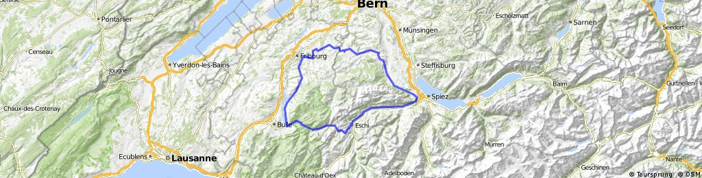 Schwarzenburg-Jaunpass-Schwarzenburg
