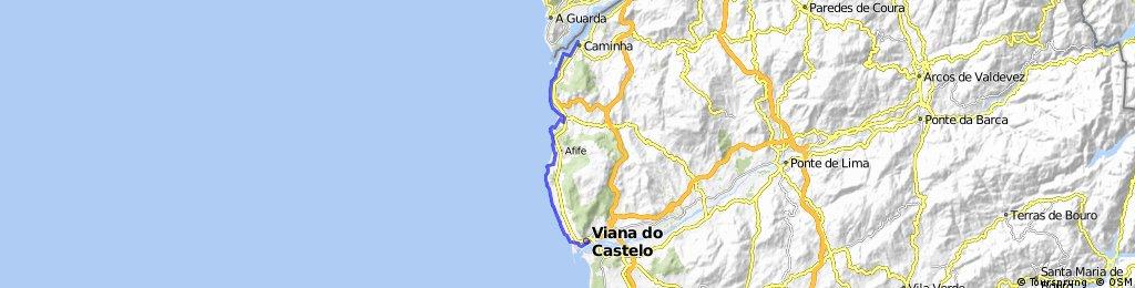 Dia 1 - Caminha - Viana do Castelo