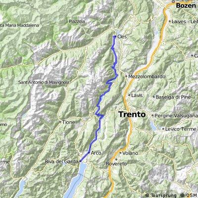 TransAlp: Fischen - Gardasee Tag 7