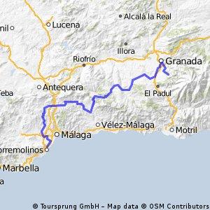 6ª Eta Benalmadena , La Zubia 187 km
