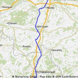 E1 : Tours - St Cyr