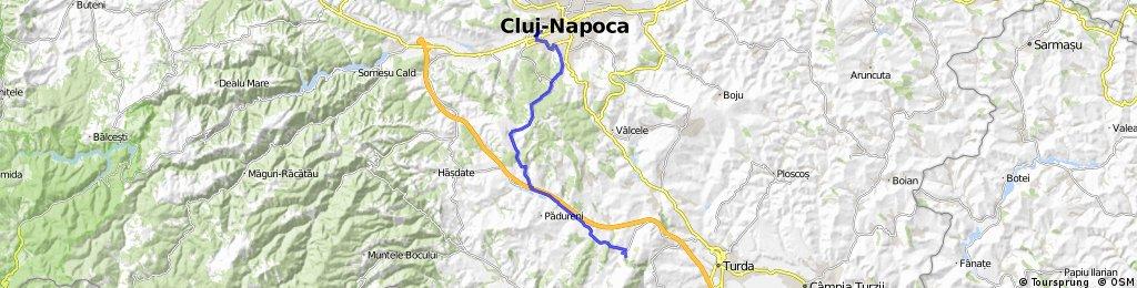Cluj Plopilor-Cheile Turzii