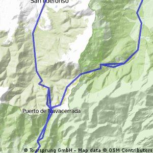 Granja, Navacerrada, Cercedilla, Rascafria, Granja
