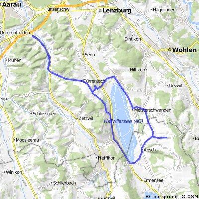 Gränichen-Leutwil-Mosen-Schongau-Boniswil-Leutwil-Gränichen