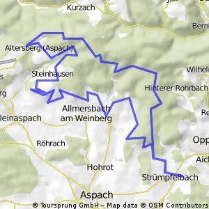 M31 Aspacher Höhenweg