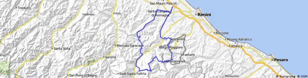San Marino - San Leo - Novafeltria