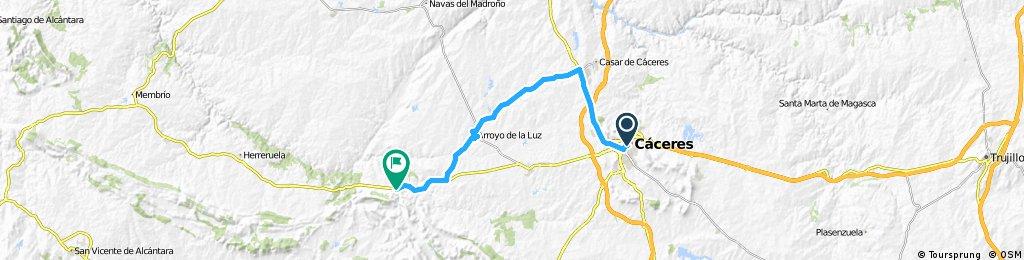 2014 - Cáceres - Santarém - 1. Tag - Cáceres - Aliseda