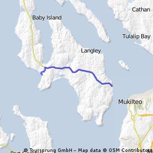 Clinton to Mutiny Bay