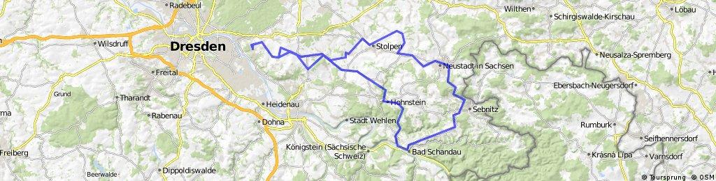Bad Schandau - Runde