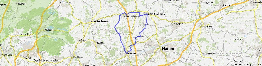 BRT2014 29.07.14 - Auf den Spuren der Pilger - RTF des SC Capelle 1971 e.V. - 50 km Strecke