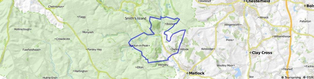 5 Dales route- White Peak MTB