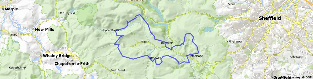 Hope Valley Circuit- White Peak MTB