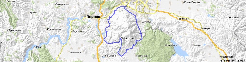 Обиколка на Витоша 2014 (неофициално трасе)