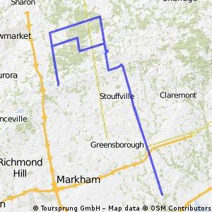 York Durham Route
