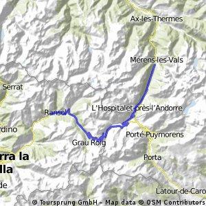 Andorská cestička