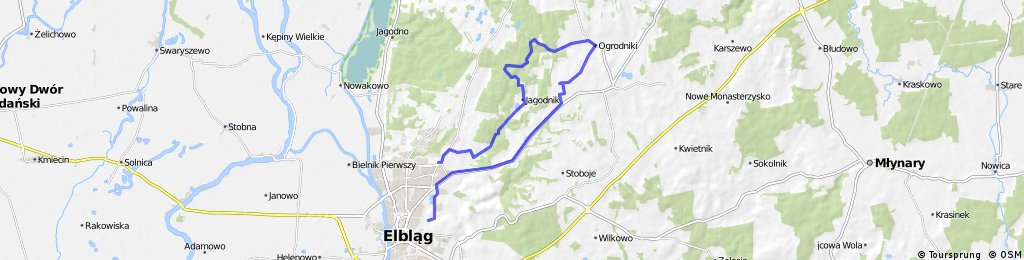 GPS - Wycieczka Nr 01/2014 - Góra Srebrna - 06 kwietna