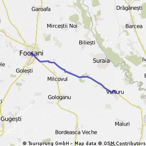 Traseu Vulturu - Focsani