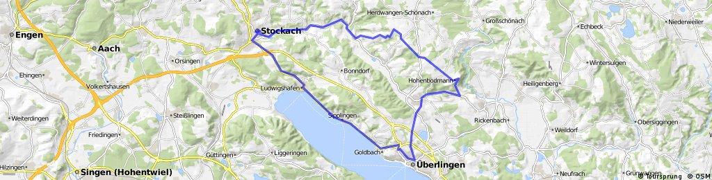 E-Bike-Tour von Stockach nach Linzgau