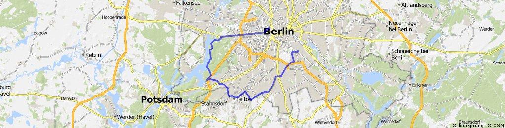 berlin, neukoelln - grunewald - mars