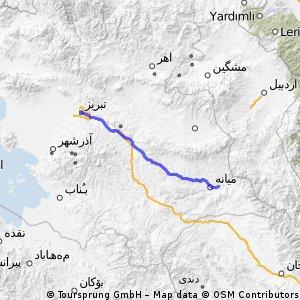 Tabriz- Miyaneh