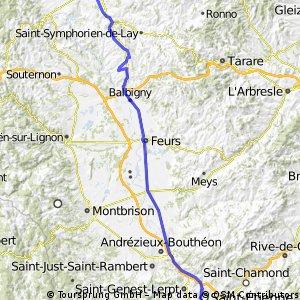 Roanne - St Etienne (4th stage of Paris - Nice)
