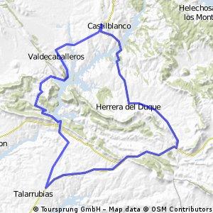 Castilblanco-Valdecaballeros-Talarrubias-Herrera-Castilblanco