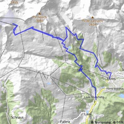 Flims Laax Falera #3  Vorab - Grauberg (247)