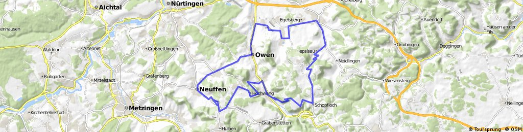 Neuffen-Lenningen-Weilheim