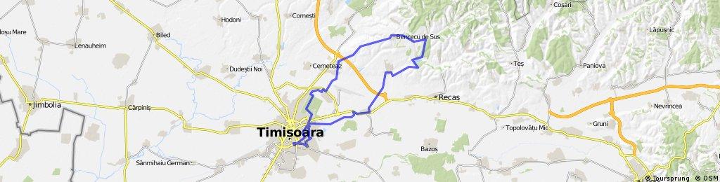 Timisoara - Bencecu de sus - Ianova - Remetea - Timisoara