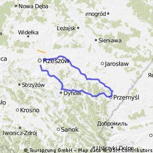 Rzeszów-Przemyśl-Rzeszów