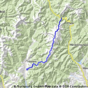 Muntii Grohotis - Pasul Bratocea - Valea Doftanei