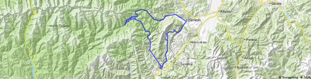 100 km tour of Piatra Craiului CLONED FROM ROUTE 618274