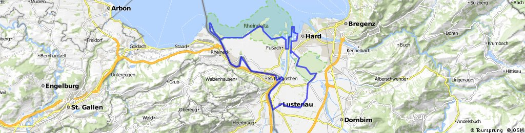 Zwei-Ländertour im Naturschutzgebiet Rohrspitz und Rheinspitz