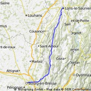 Bourg-en-Bresse / Lons-le-Saunier
