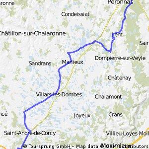Mionnay / Bourg-en-Bresse