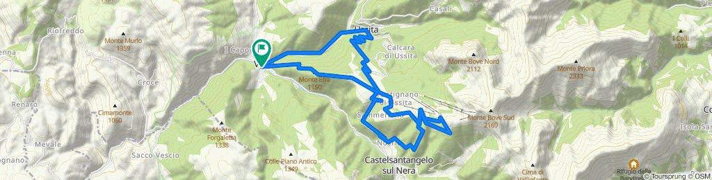 VISSO (MC) • Pino Torto, San Chiodo e Monte Torrone