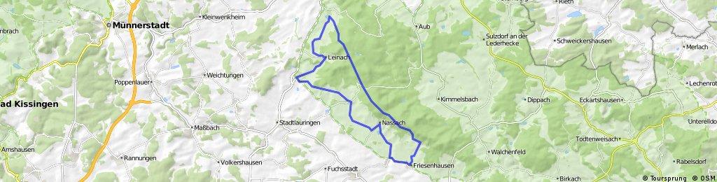 Tour durch und am Rande der Haßberge