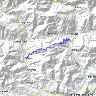 Ovaro - Monte Zoncolan - Sutrio