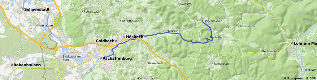 Aschaffenburg - Heigenbrücken