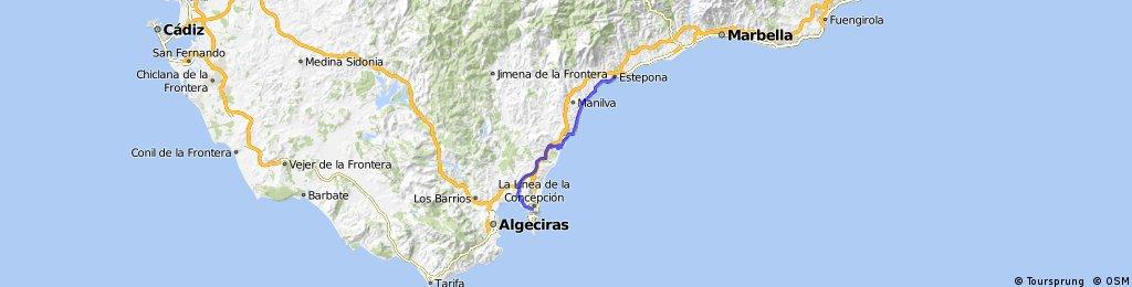 Gibraltar to Estepona
