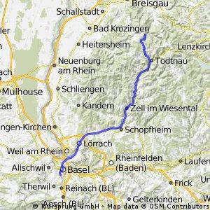 Basel - SteinwasenPark (Schwarzwald)